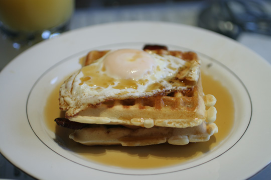 Proudly presenting: The Waffle Melt