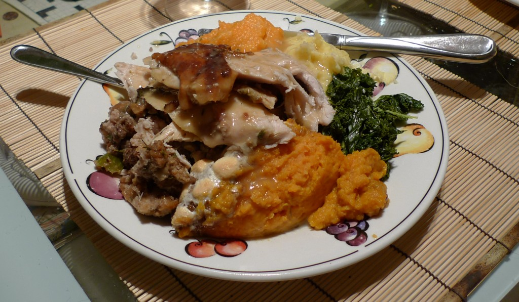Yum!  Truly a feast to be thankful for!