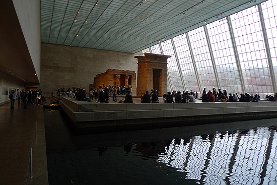 The Temple of Dandur at the Met.